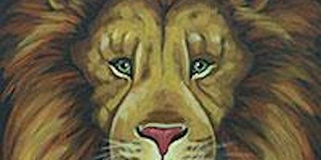 Blazn Paints - Regal Lion Painting Class tickets