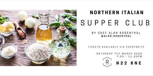 A nod to nothern Italy supperclub