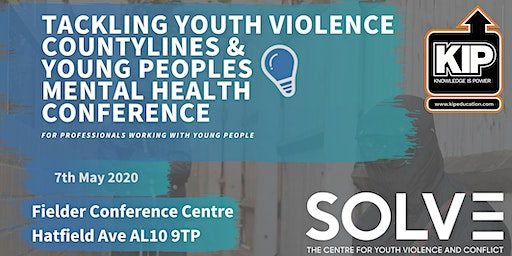 Tackling  Youth Violence, Countylines &  Young Peoples Mental Health