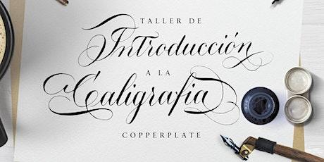 Copia de Introducción a la Caligrafía Copperplate boletos