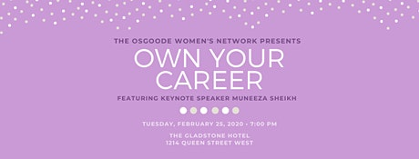 OWN Your Career 2020 tickets