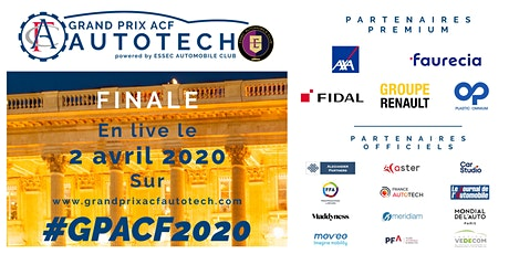 Grand Prix ACF AutoTech 2020, powered by ESSEC Automobile Club billets