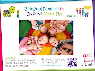 Bilingual Families in Oxford Meet Up tickets