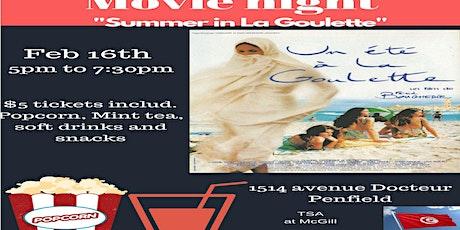 "Movie Night ""Summer in La Goulette""  tickets"