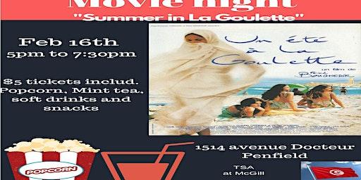 "Movie Night ""Summer in La Goulette"""