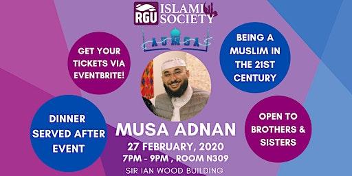 Musa Adnan: Talk