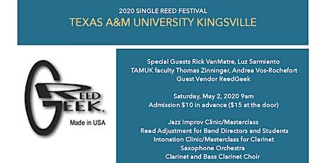 TAMUK Single Reed Festival tickets
