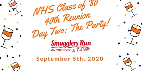 "NHS Class of 1980 ""40th Reunion"" - Day Two: The Party! tickets"