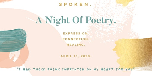 Spoken. A Night Of Poetry.