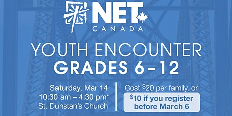 NET Encounter - Grades 6 - 12 tickets