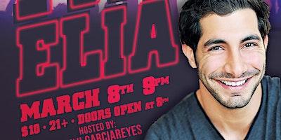 Paul Elia at Hood Bar Comedy Night - Sun Mar 8th 9:30 pm