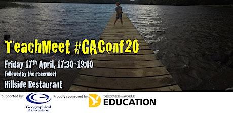 #GAConf20 TeachMeet tickets