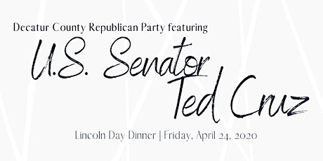 Decatur County GOP Lincoln Day 2020 tickets
