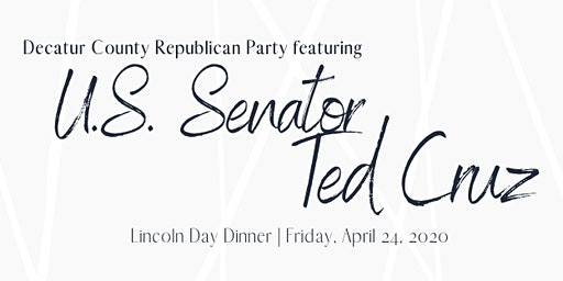 Decatur County GOP Lincoln Day 2020