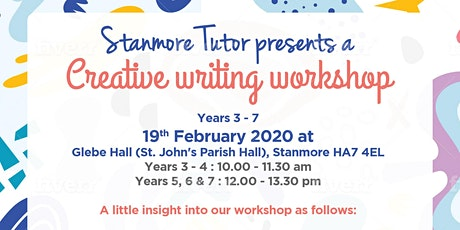 Creative Writing Workshop in Stanmore tickets