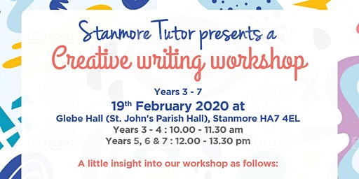 Creative Writing Workshop in Stanmore