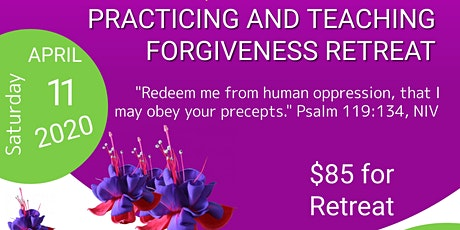 Practicing and Teaching Forgiveness tickets