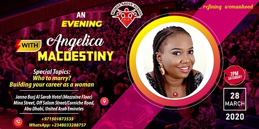 Evening with Angelica Macdestiny