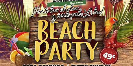 MASPALOMAS BEACH PARTY tickets