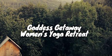 Goddess Getaway Women's Yoga Retreat 2020 - Deposit tickets