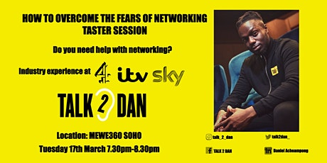 How to Overcome the Fears of Networking - Taster Session tickets