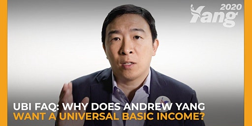 Andrew Yang Campaign Event