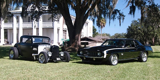 Bill Mergens Memorial Car and Truck Show  at Gamble Plantation-Spring 2020