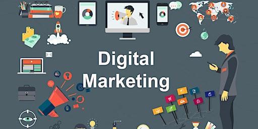 35 Hours Advanced & Comprehensive Digital Marketing Training in San Marcos