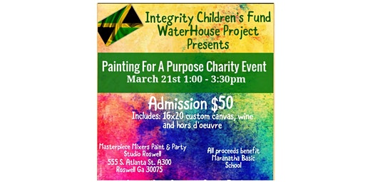 Integrity Children's Fund: Waterhouse Project - Painting For A Purpose Charity Event