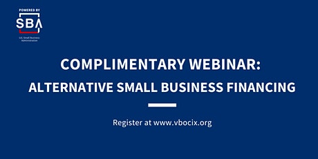 Alternative Small Business Financing tickets