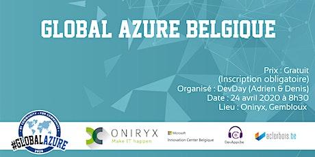 Global Azure Belgique billets