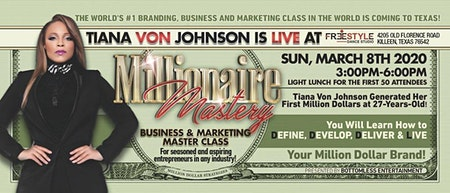 Millionaire Mastery Business & Marketing Conference TEXAS!