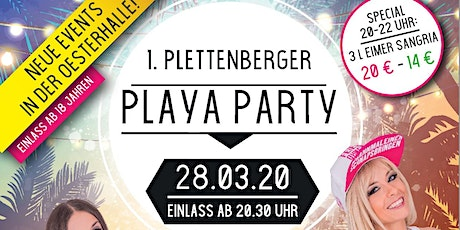 1. Plettenberger Playa Party Tickets