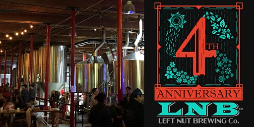 4th Anniversary Party -  Left Nut Brewing Company