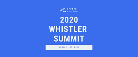 Whistler Summit 2020 tickets