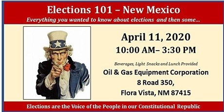 Elections 101 - Farmington, NM tickets