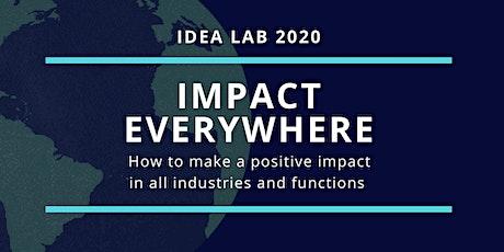 Idea Lab 2020:  Impact Everywhere tickets