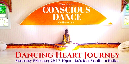 An Intimate  Saturday Night  Dancing Heart Journey!