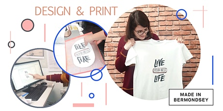 The T-shirt printing masterclass tickets