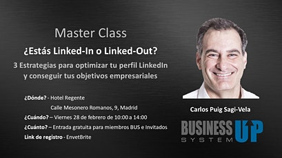 Evento Business Up MADRID (febrero) entradas