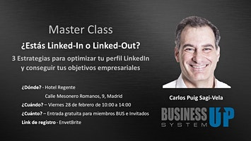 Evento Business Up MADRID (febrero)