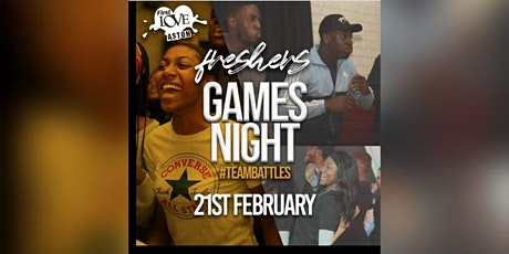 Freshers Games Night tickets