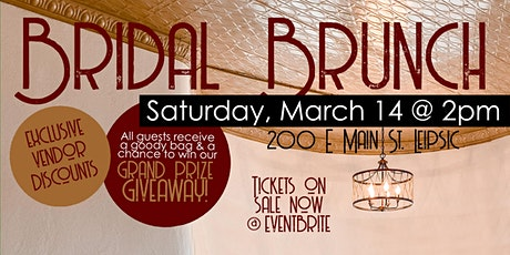 Bridal Brunch in Downtown Leipsic tickets