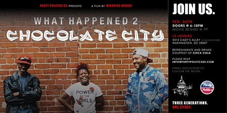 What Happened 2 Chocolate City tickets