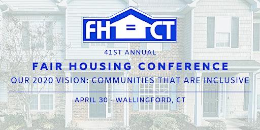 2020 FHACT FAIR HOUSING CONFERENCE