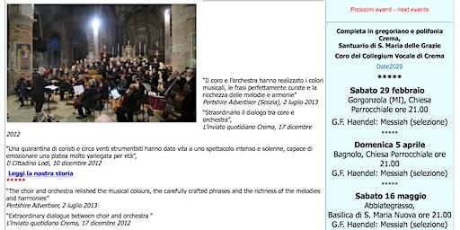 Concerto: G.F. Haendel Messiah (selezione)