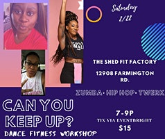 Can You Keep Up? Dance Fitness Workshop