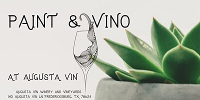 Paint and Vino at Augusta Vin