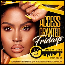 FRIDAY NIGHT AT MEMBERS ONLY tickets