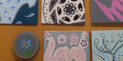 Mindful Dotty Art for Wellbeing